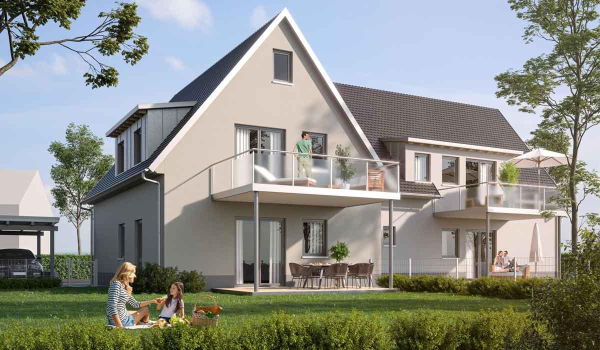 4 neue Eigentumswohnungen in Enderndorf am See