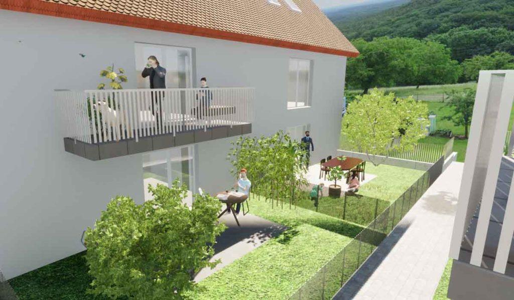 Großweingarten Neubau 6 Wohneinheiten