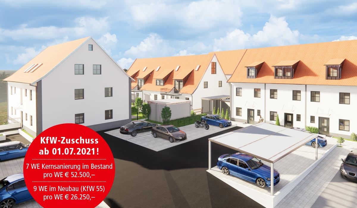 Eigentumswohnung kaufen im Fränkischen Seenland in Großweingarten bei Spalt