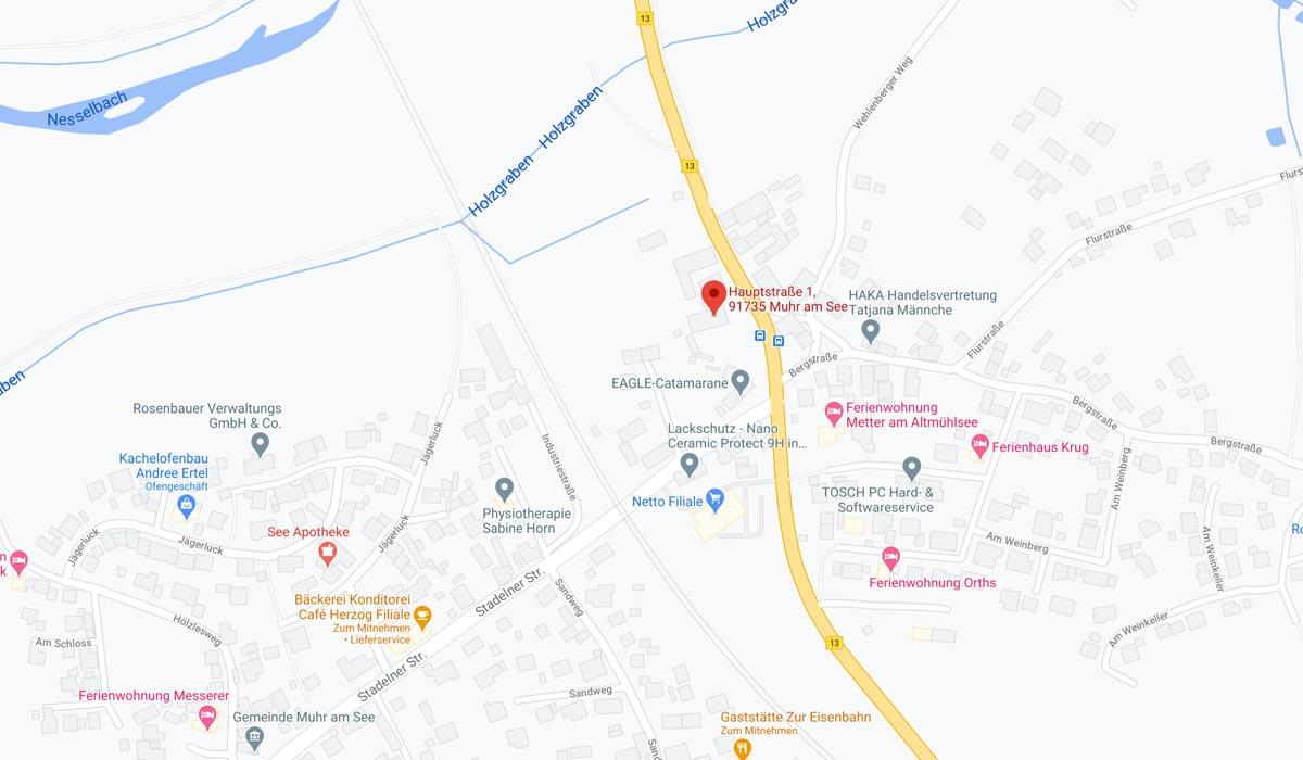 Hauptstraße 1, 91735 Muhr am See