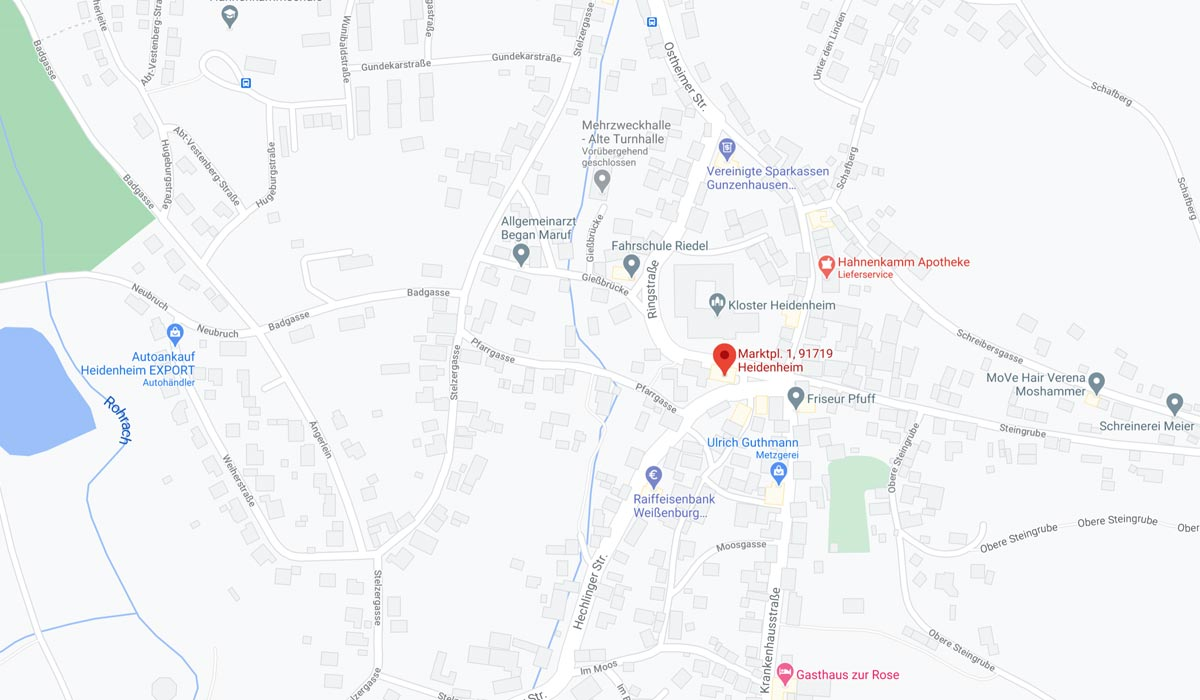 Marktplatz 1, 91719 Heidenheim