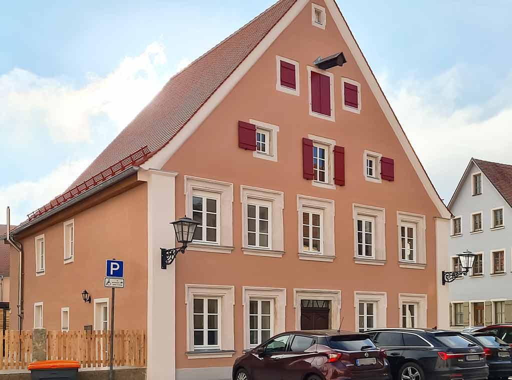 Schlüsselfertige Denkmalsanierung in Weißenburg, Äußere Türkengasse 1