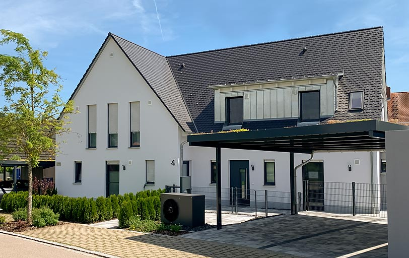 Neubau Immobilie vom Bauträger Nürminger in Enderndorf