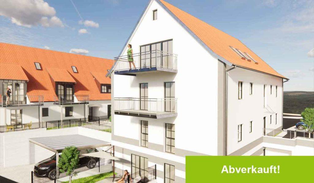 Großweingarten: 6 barrierefreie Neubauwohnungen | verkauft