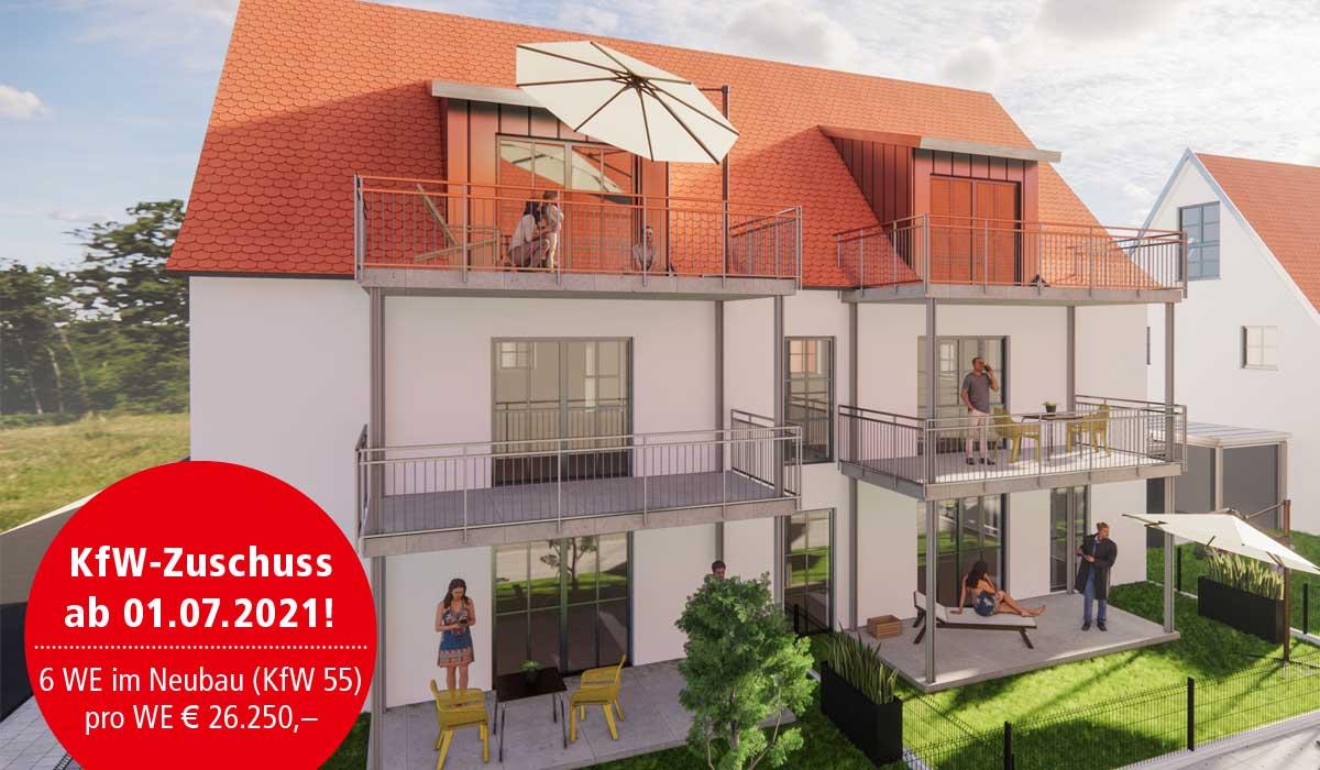 Eigentumswohnungen und Ferienwohnungen in Spalt Großweingarten kaufen