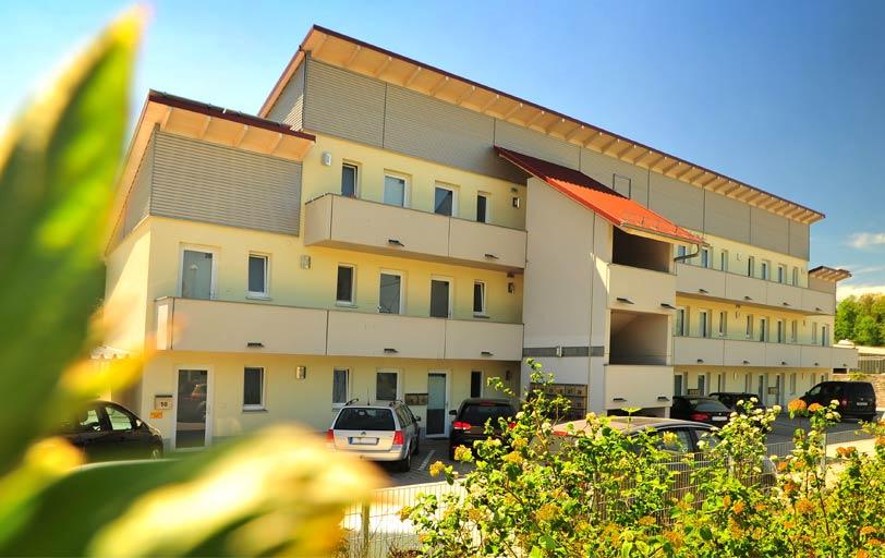 Neubau von 72 Studentenappartements in Triesdorf